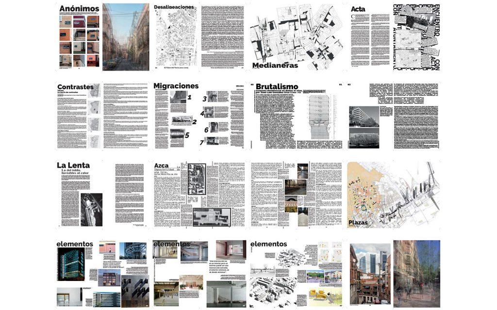 ARQUITECTURA COAM Desalineaciones 375 Tetuan - Revista de arquitectura y Urbanismo COAM [Septiembre 2018] 03