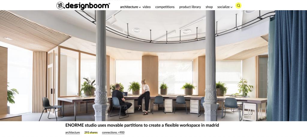 DESIGNBOOM Xeito Oficinas - Enorme Estudio [2020]
