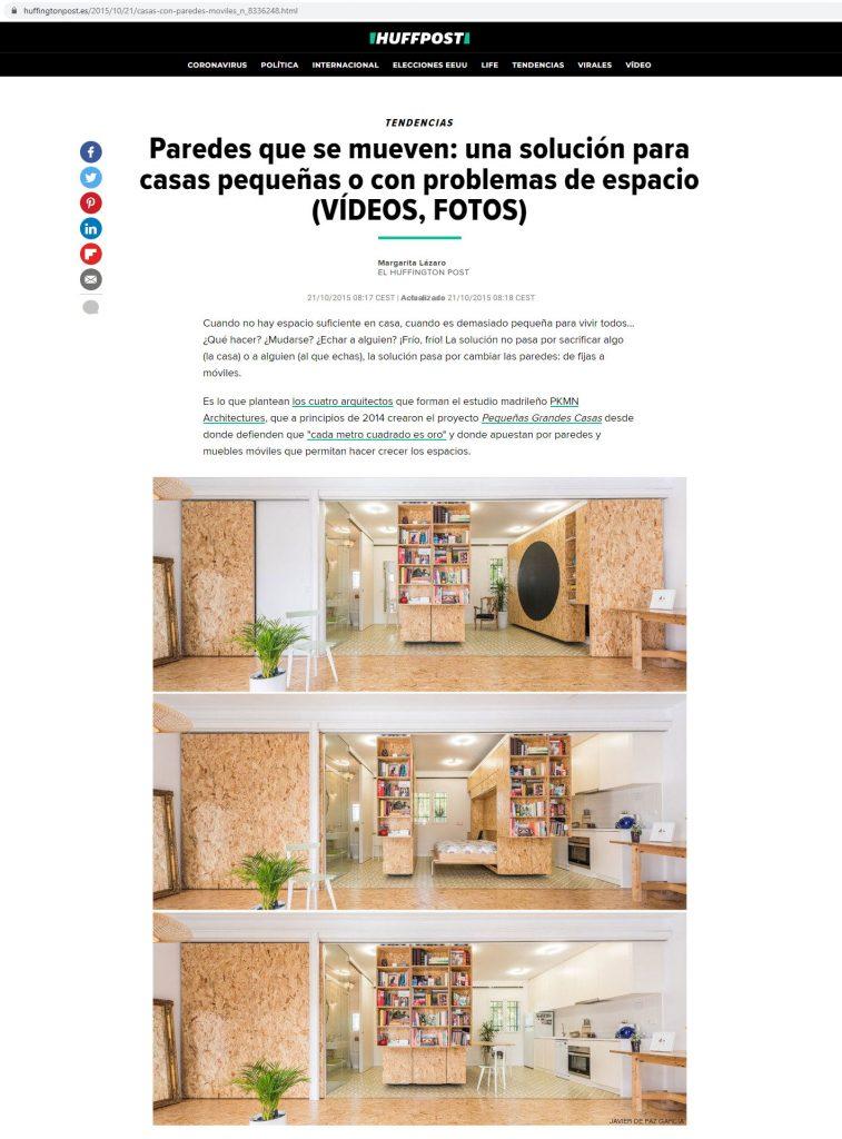 Huffington post - Peque§as grandes casas ˙ PKMN [Oct 2015] USA